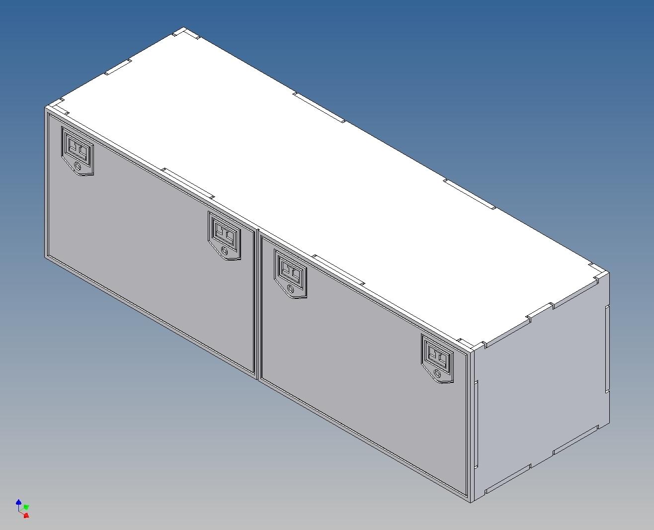 staubox f r tamiya lkw m1 14 170 lang x 52 hoch x 56. Black Bedroom Furniture Sets. Home Design Ideas